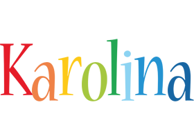 Karolina birthday logo