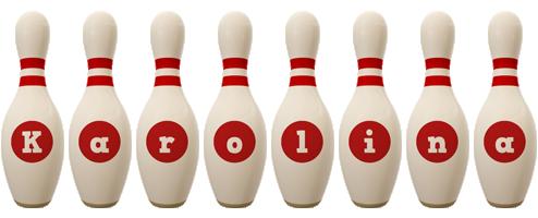 Karolina bowling-pin logo