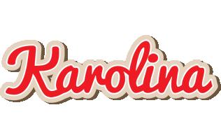 Karolina chocolate logo