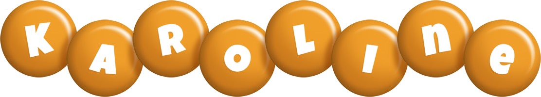 Karoline candy-orange logo