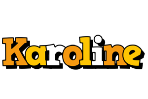 Karoline cartoon logo