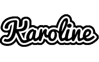 Karoline chess logo
