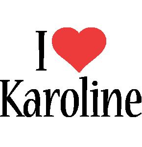 Karoline i-love logo