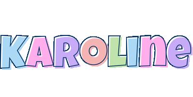 Karoline pastel logo