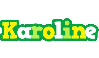 Karoline soccer logo