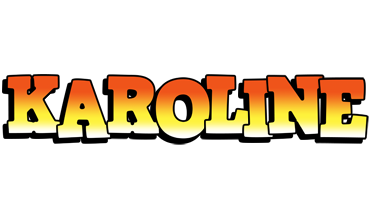 Karoline sunset logo