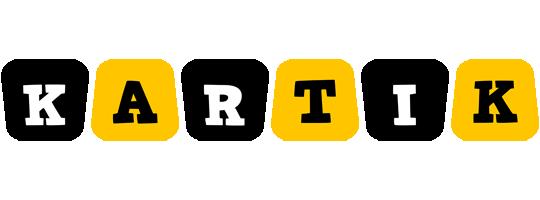 Kartik boots logo