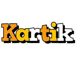 Kartik cartoon logo