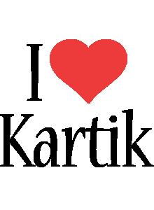 Kartik i-love logo