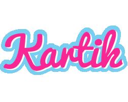 Kartik popstar logo