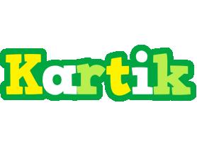 Kartik soccer logo