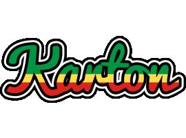 Karton african logo