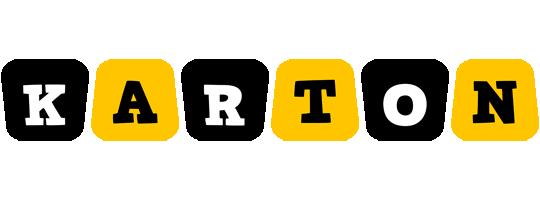 Karton boots logo