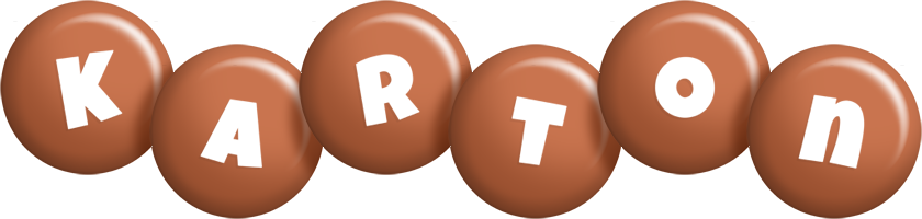 Karton candy-brown logo