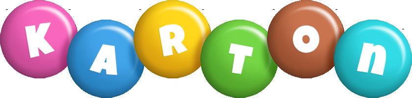 Karton candy logo
