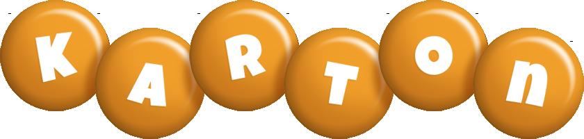 Karton candy-orange logo