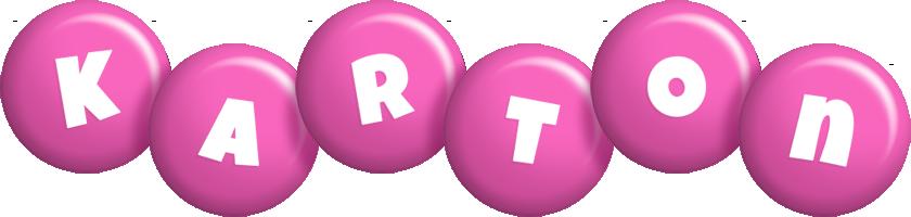 Karton candy-pink logo
