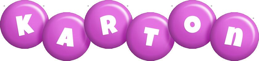 Karton candy-purple logo
