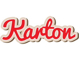 Karton chocolate logo