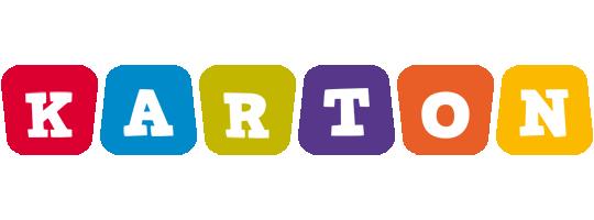 Karton daycare logo