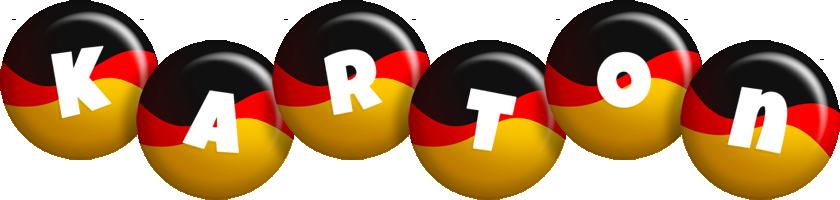 Karton german logo