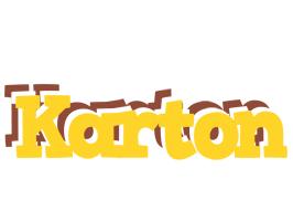 Karton hotcup logo