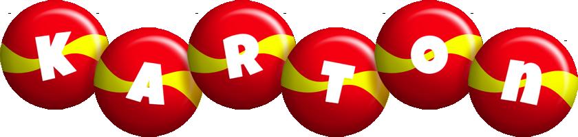 Karton spain logo