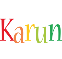 Karun birthday logo