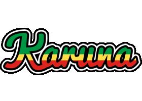 Karuna african logo