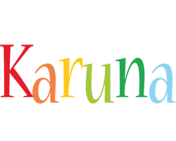 Karuna birthday logo