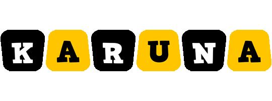 Karuna boots logo
