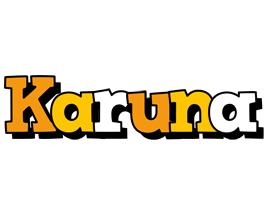 Karuna cartoon logo