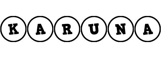 Karuna handy logo