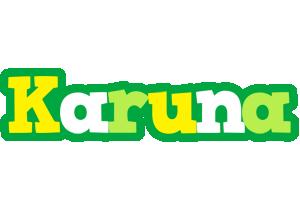 Karuna soccer logo