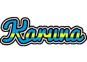 Karuna sweden logo