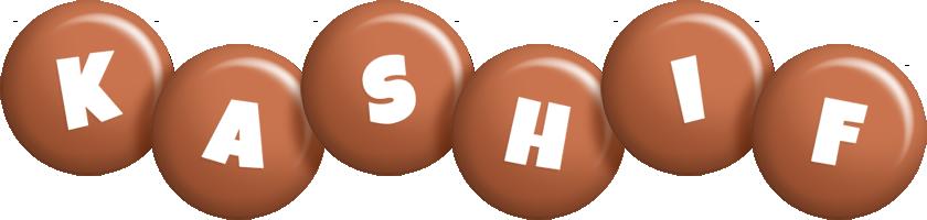 Kashif candy-brown logo