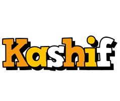 Kashif cartoon logo