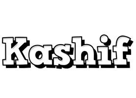 Kashif snowing logo