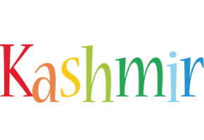 Kashmir birthday logo