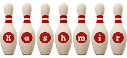 Kashmir bowling-pin logo
