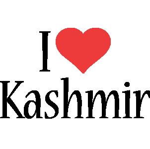 Kashmir i-love logo