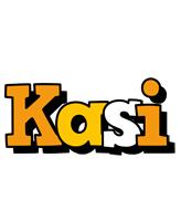 Kasi cartoon logo
