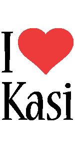 Kasi i-love logo