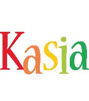 Kasia birthday logo