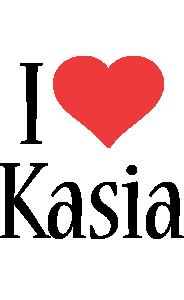 Kasia i-love logo