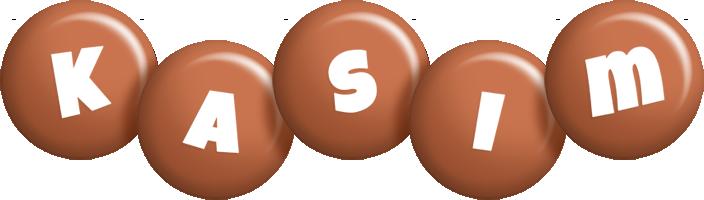 Kasim candy-brown logo