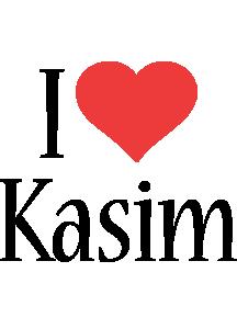 Kasim i-love logo