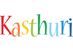 Kasthuri birthday logo