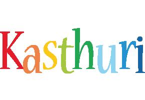 Kasthuri birthday logo