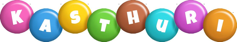 Kasthuri candy logo